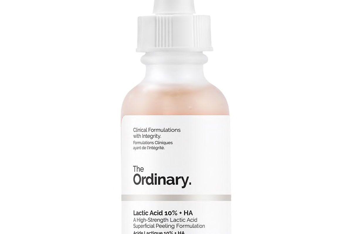 the ordinary lactic acid 10 percent plus ha