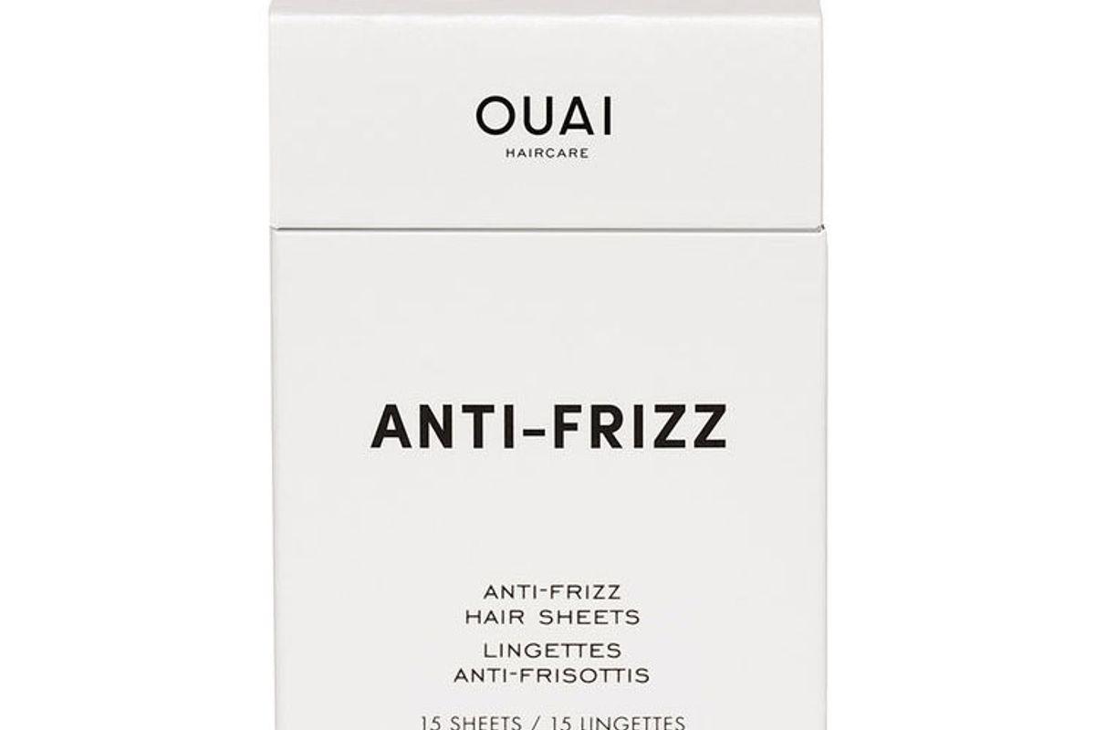 the ouai anti frizz hair sheets