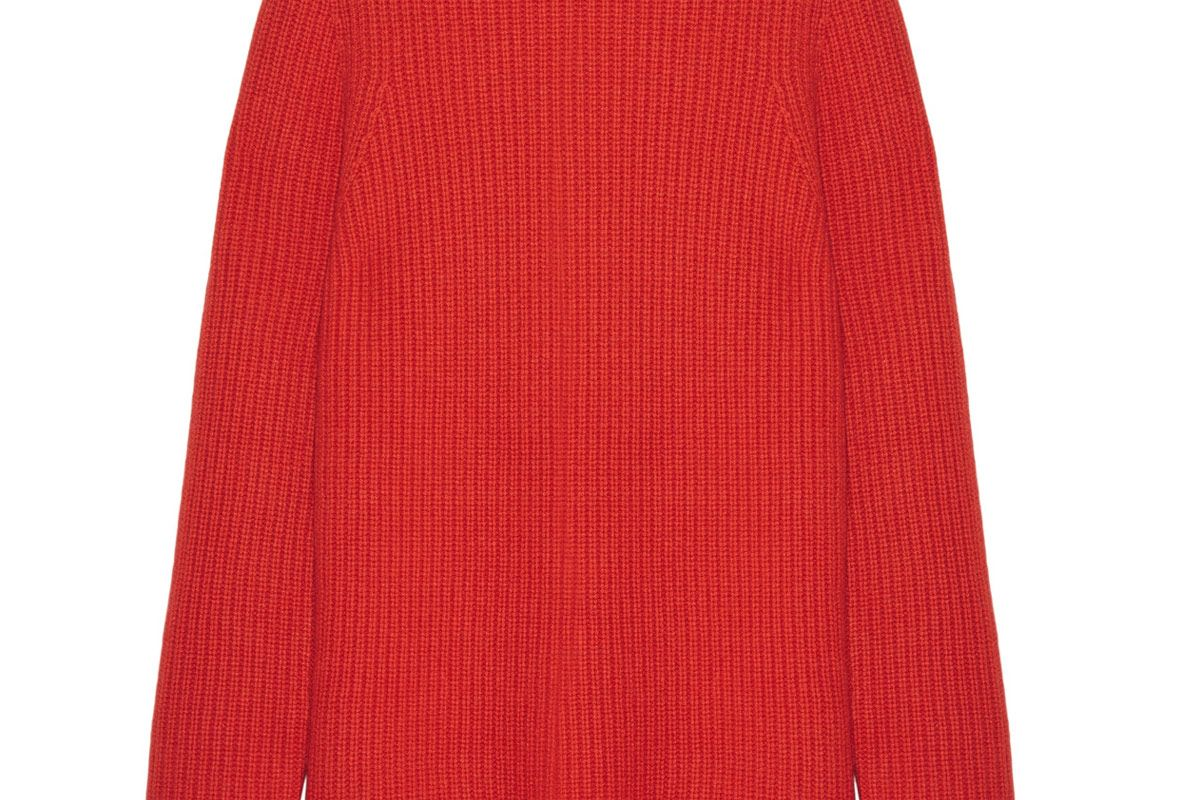 Taby Oversized Chunky-Knit Cashmere Sweater