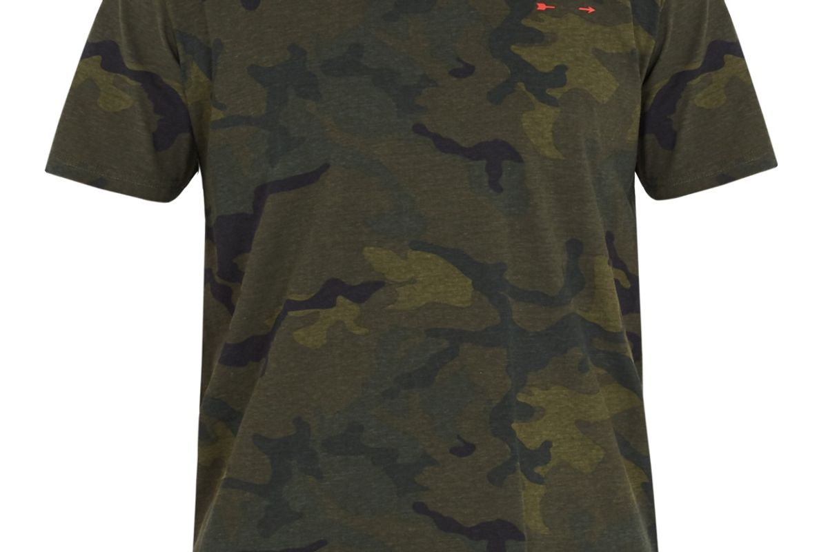 Jack Camouflage-Print Cotton Performance T-Shirt