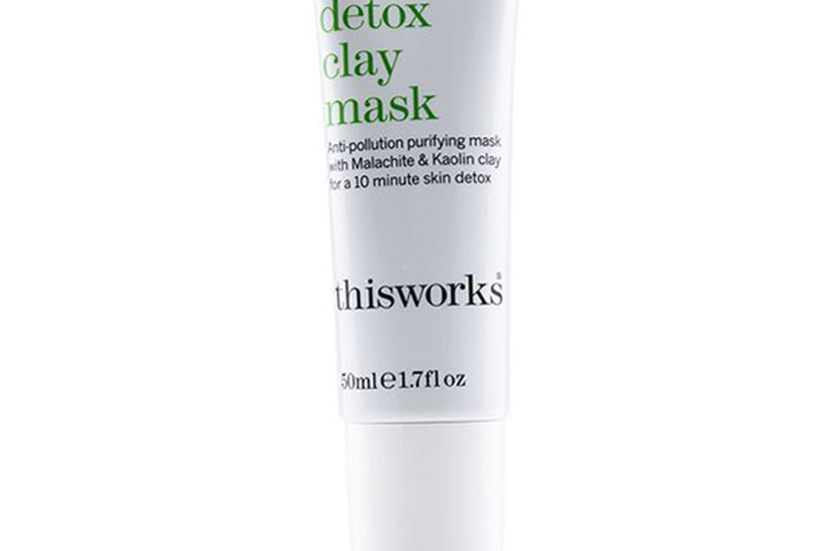 this works evening detox clay mask