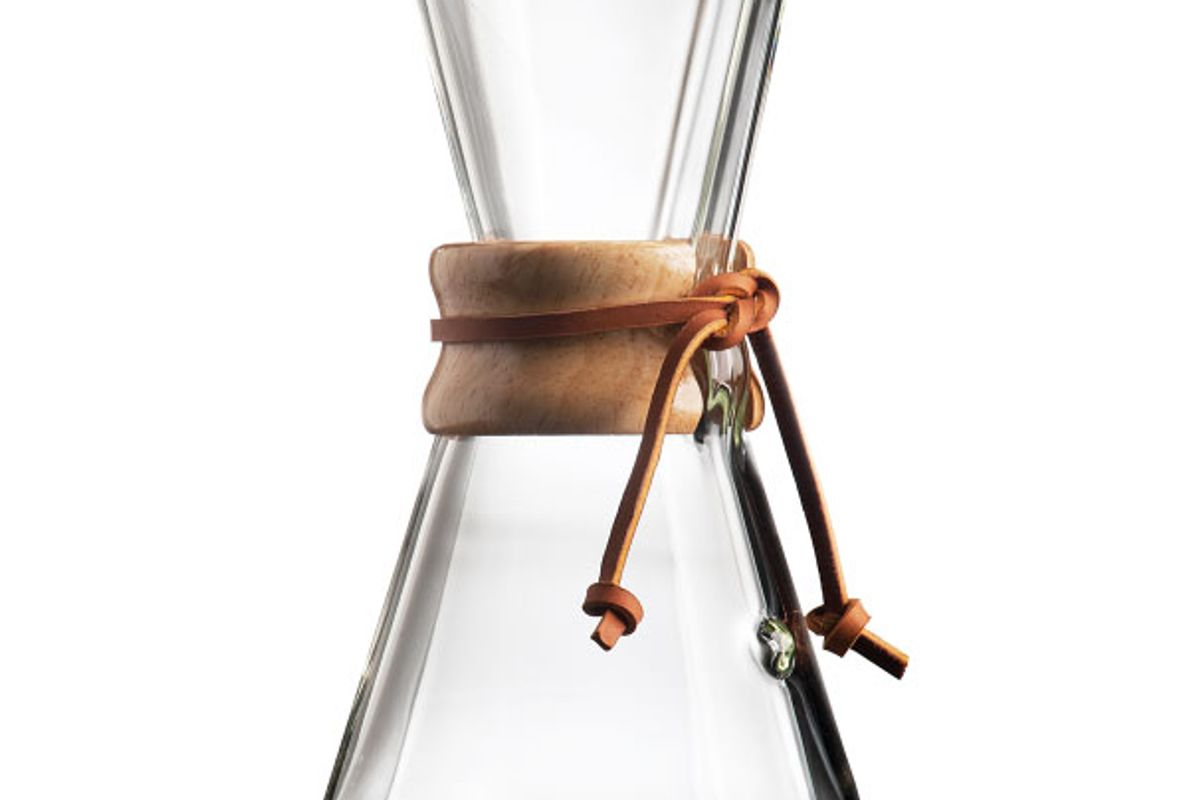 chemex three cup handblow series coffeemaker