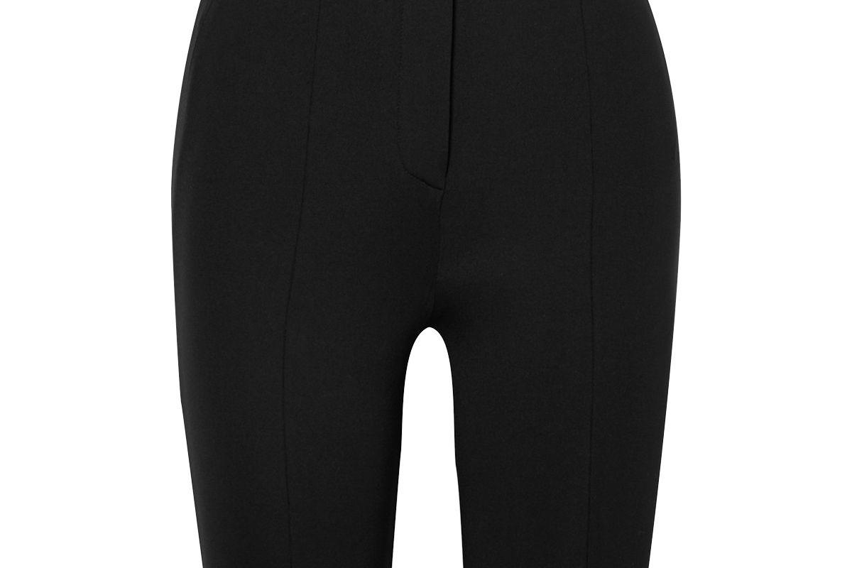 tibi stretch woven shorts