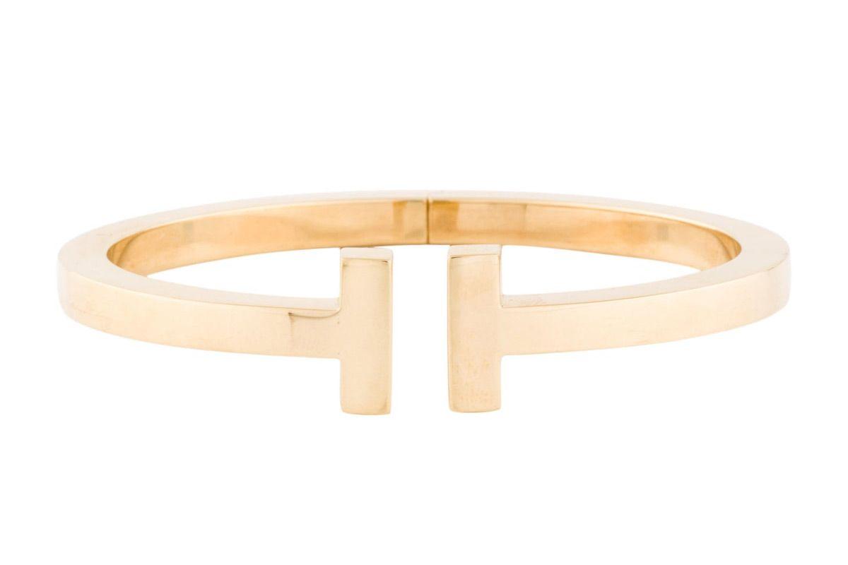 tiffany and co tiffany t square bracelet