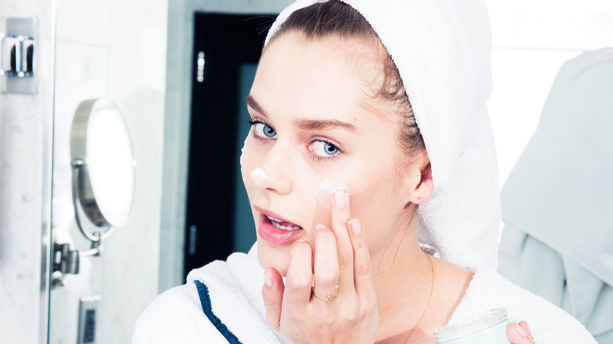 too much moisturizer