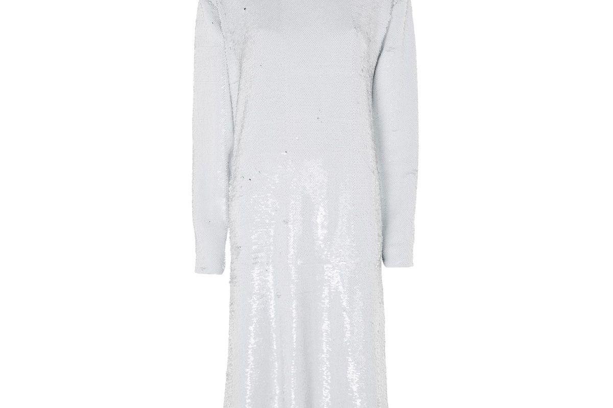 topshop boutique sequin midi dress