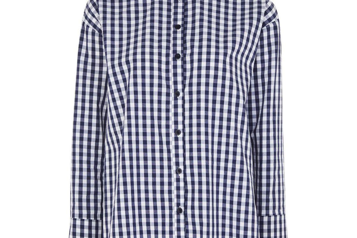 Gingham Double Cuff Shirt