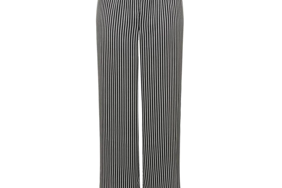 Satin Striped Pyjama Pants