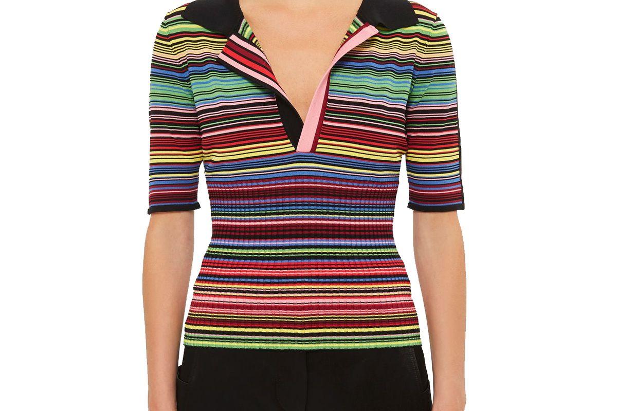 Hacienda Stripe Ribbed Waist T-Shirt