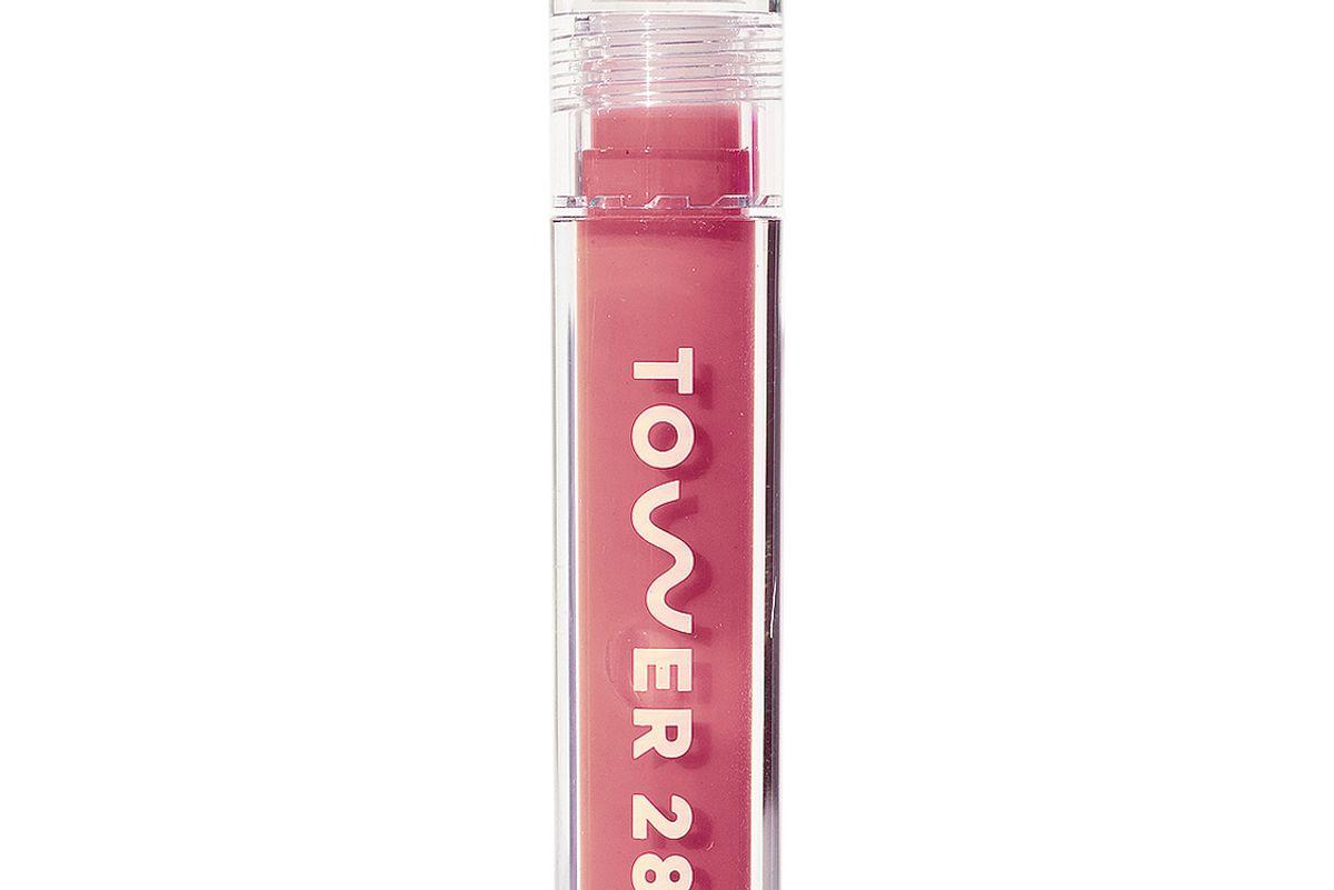 tower 28 beauty shineon milky lip jelly gloss