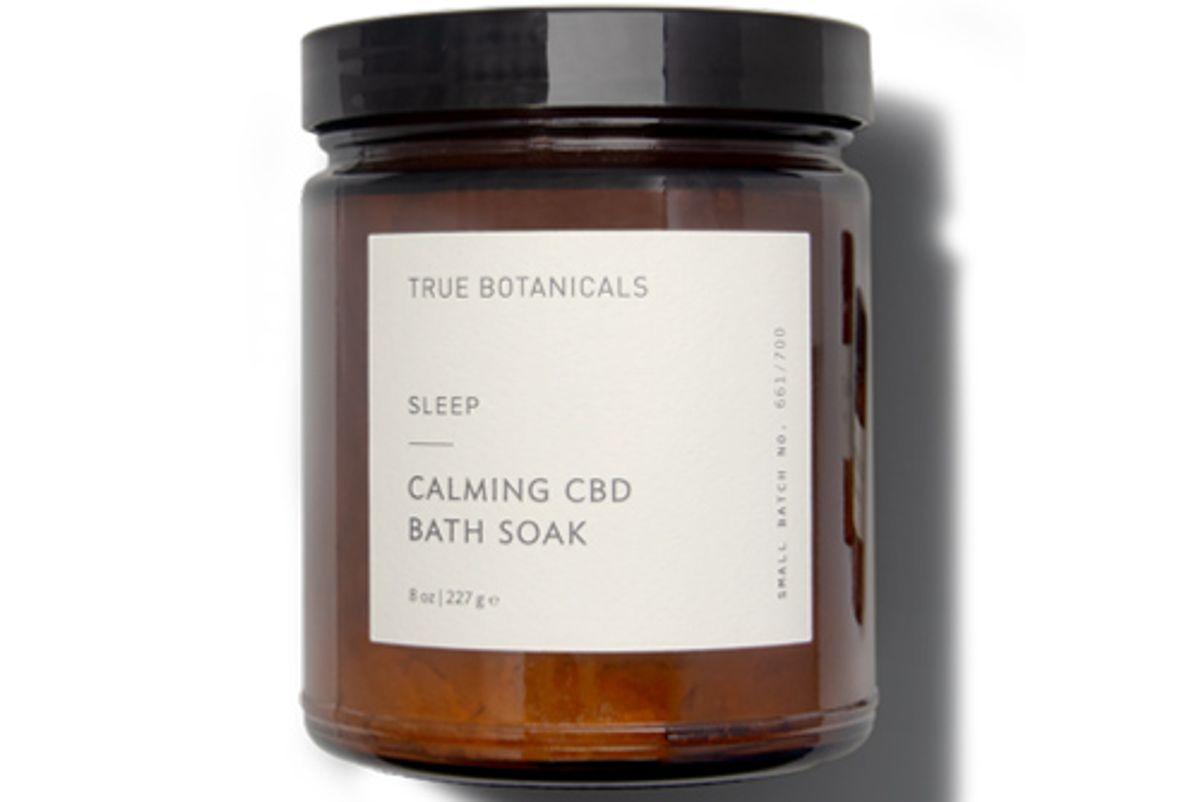 true botanicals calming cbd bath soak