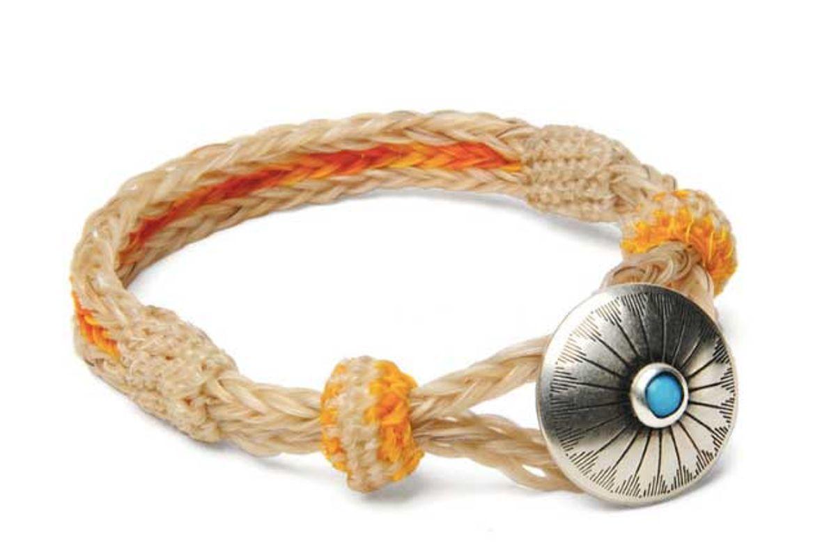 chamula original turquoise concho bracelet