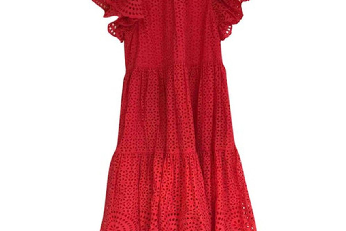 ulla johnson mid length dress
