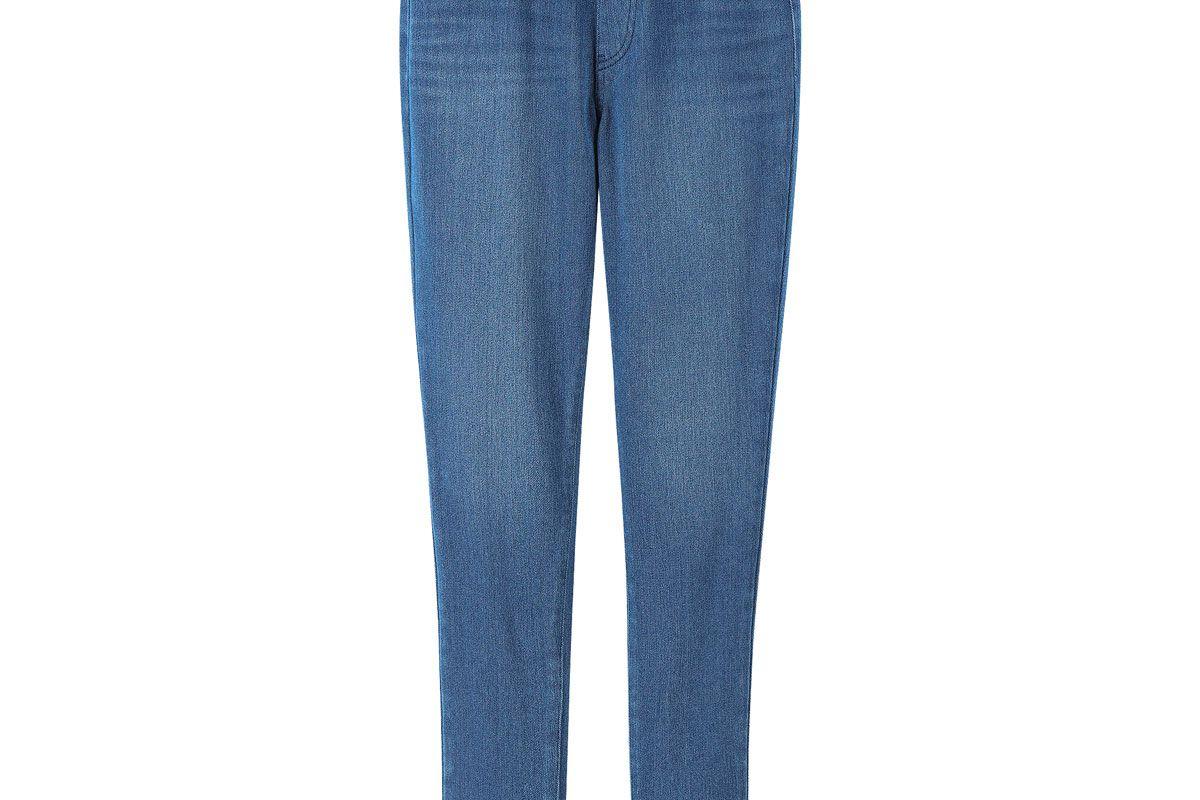 uniqlo women heattech denim leggings pants