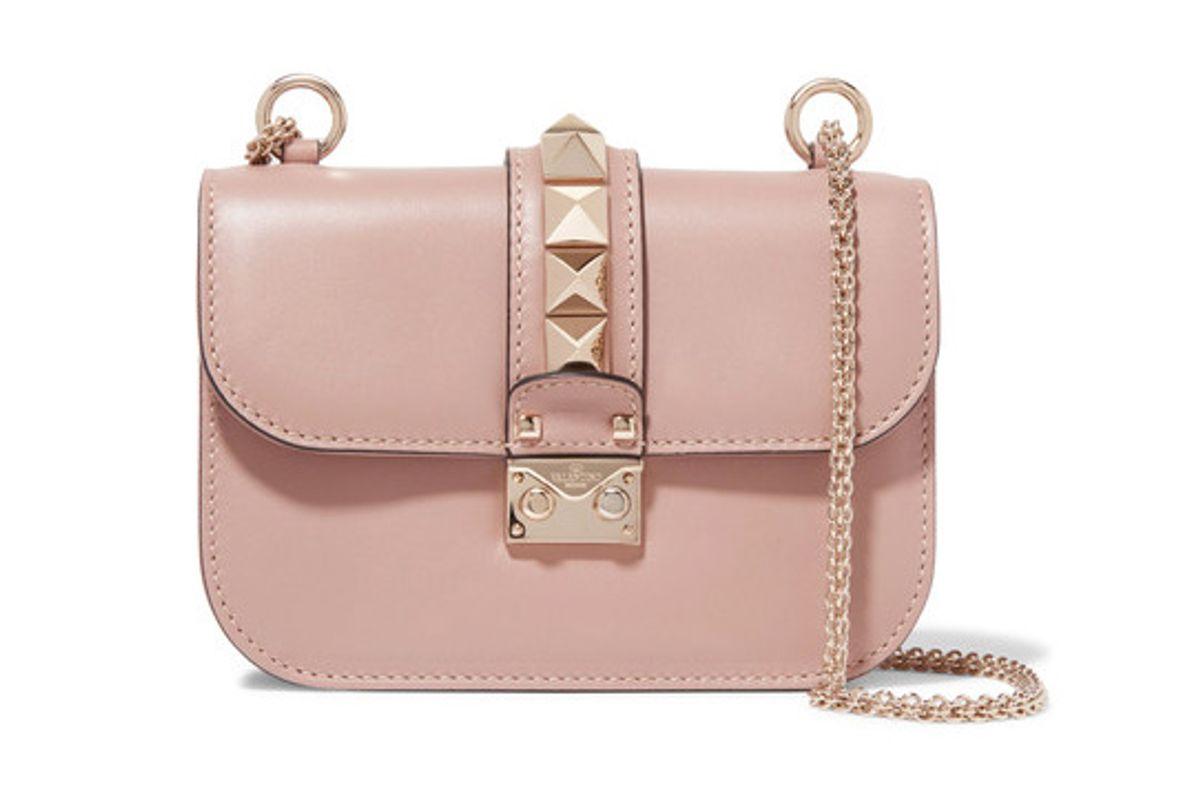 Lock Small Leather Shoulder Bag