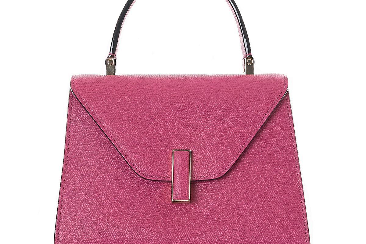 valextra mini iside calfskin handbag
