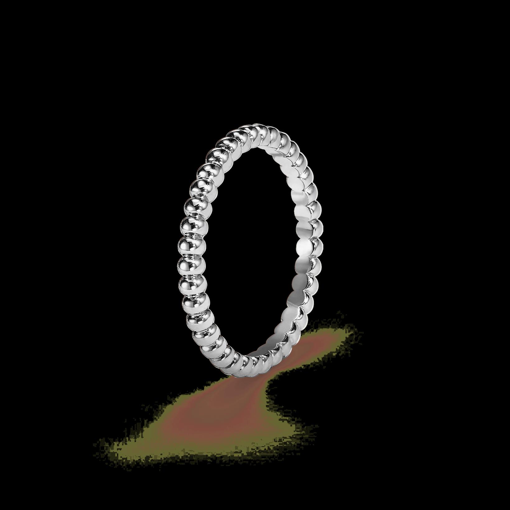 van cleef and arpels perlee pearls of gold ring