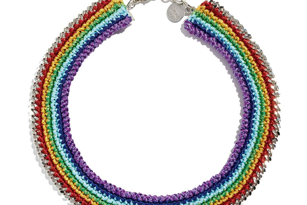 venessa arizaga chasing rainbow necklace
