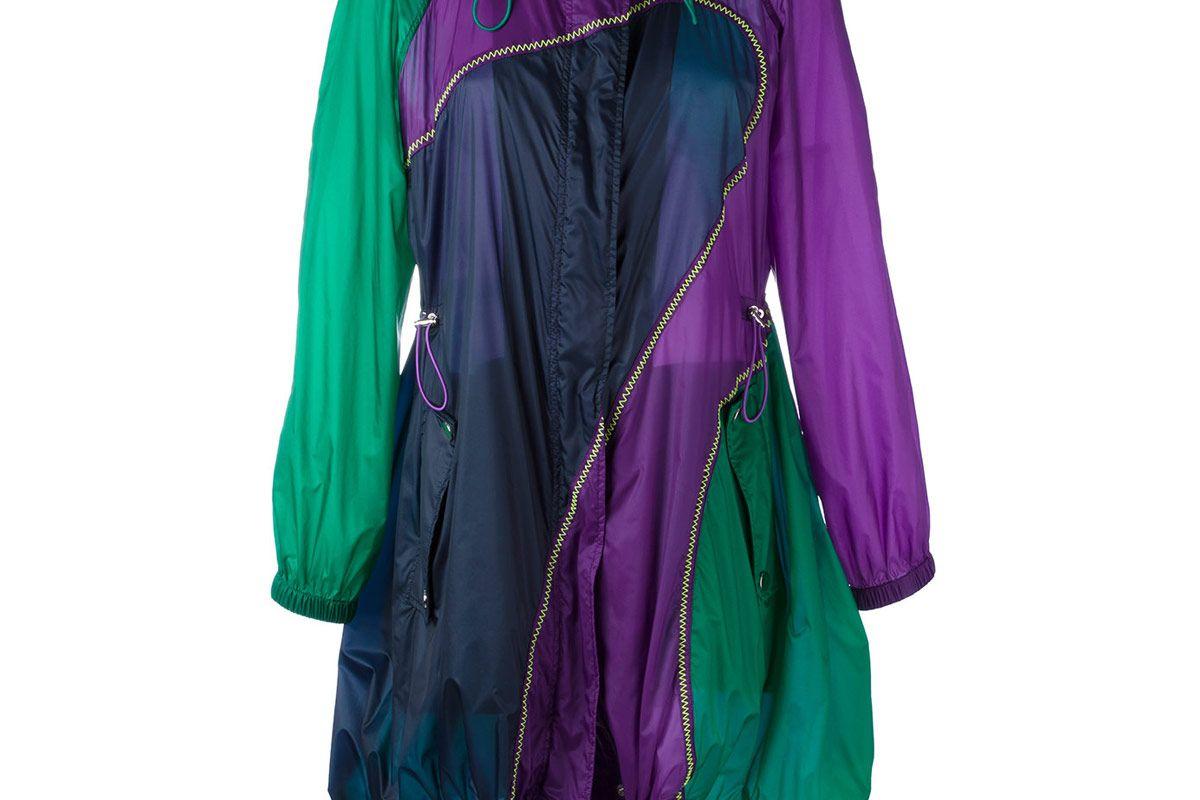 Colour Curve Mid-Length Coat