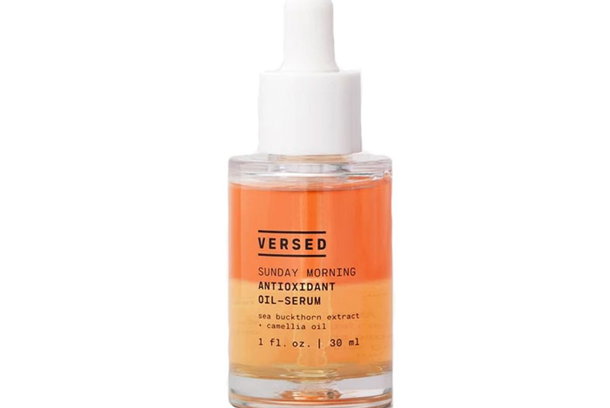 versed sunday morning antioxidant oil serum
