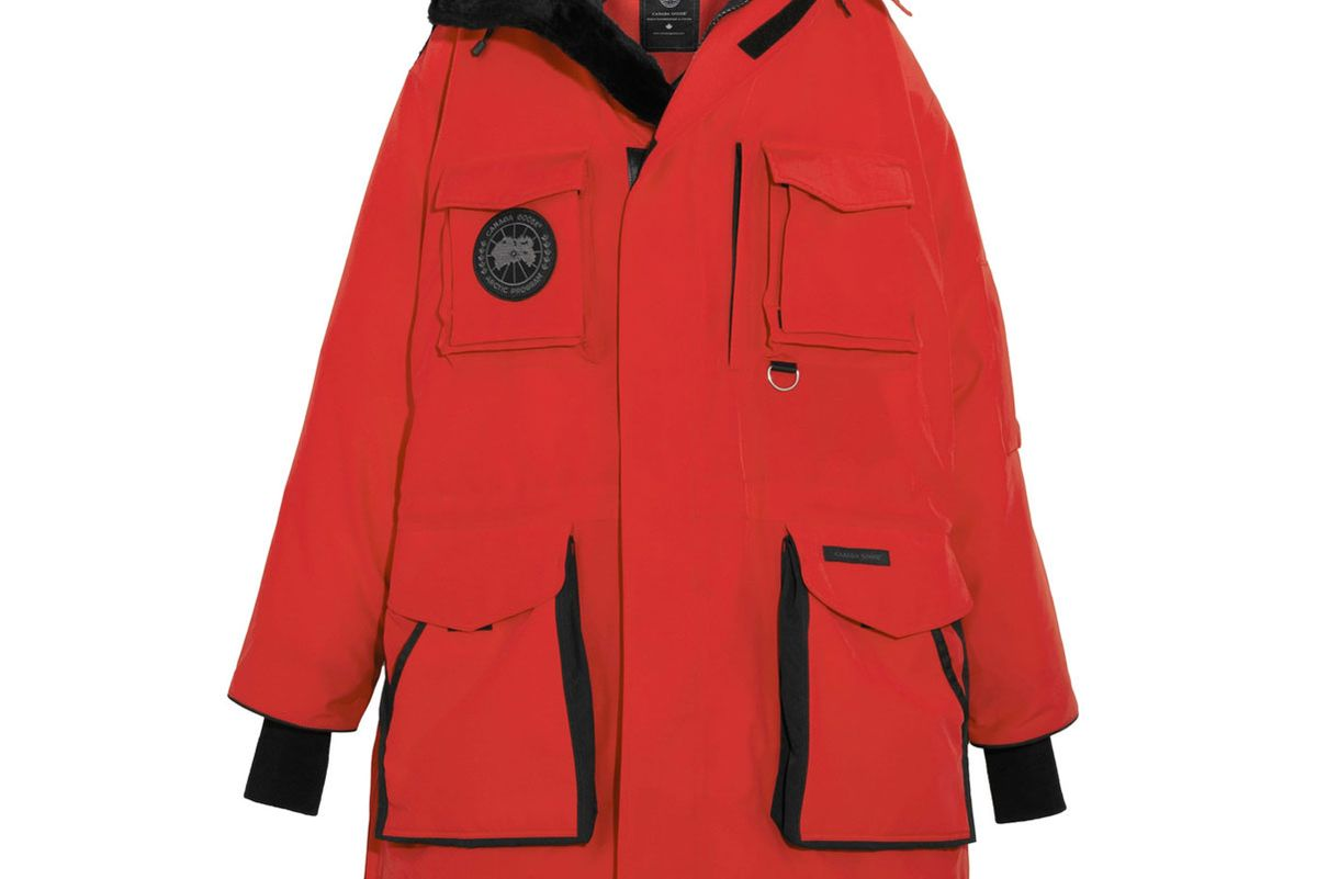 + Canada Goose Oversized Hooded Fleece-Trimmed Shell Down Parka