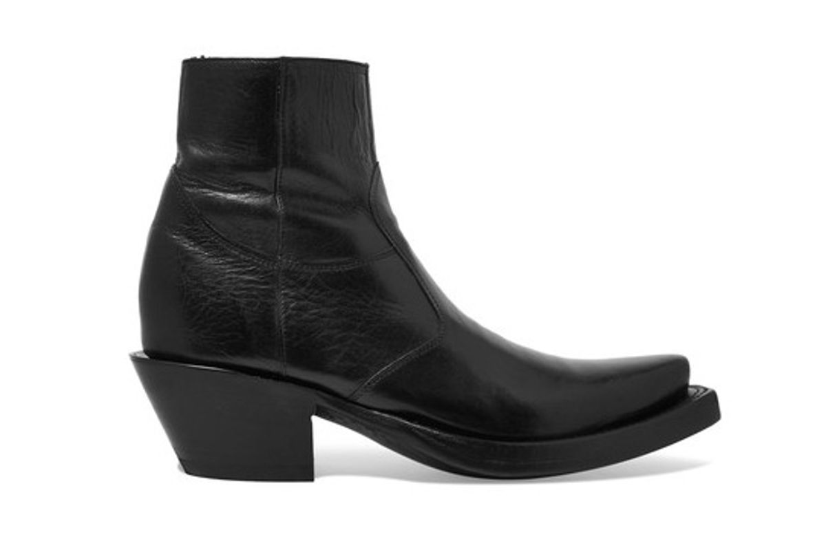 + Lucchese Leather Ankle Boots
