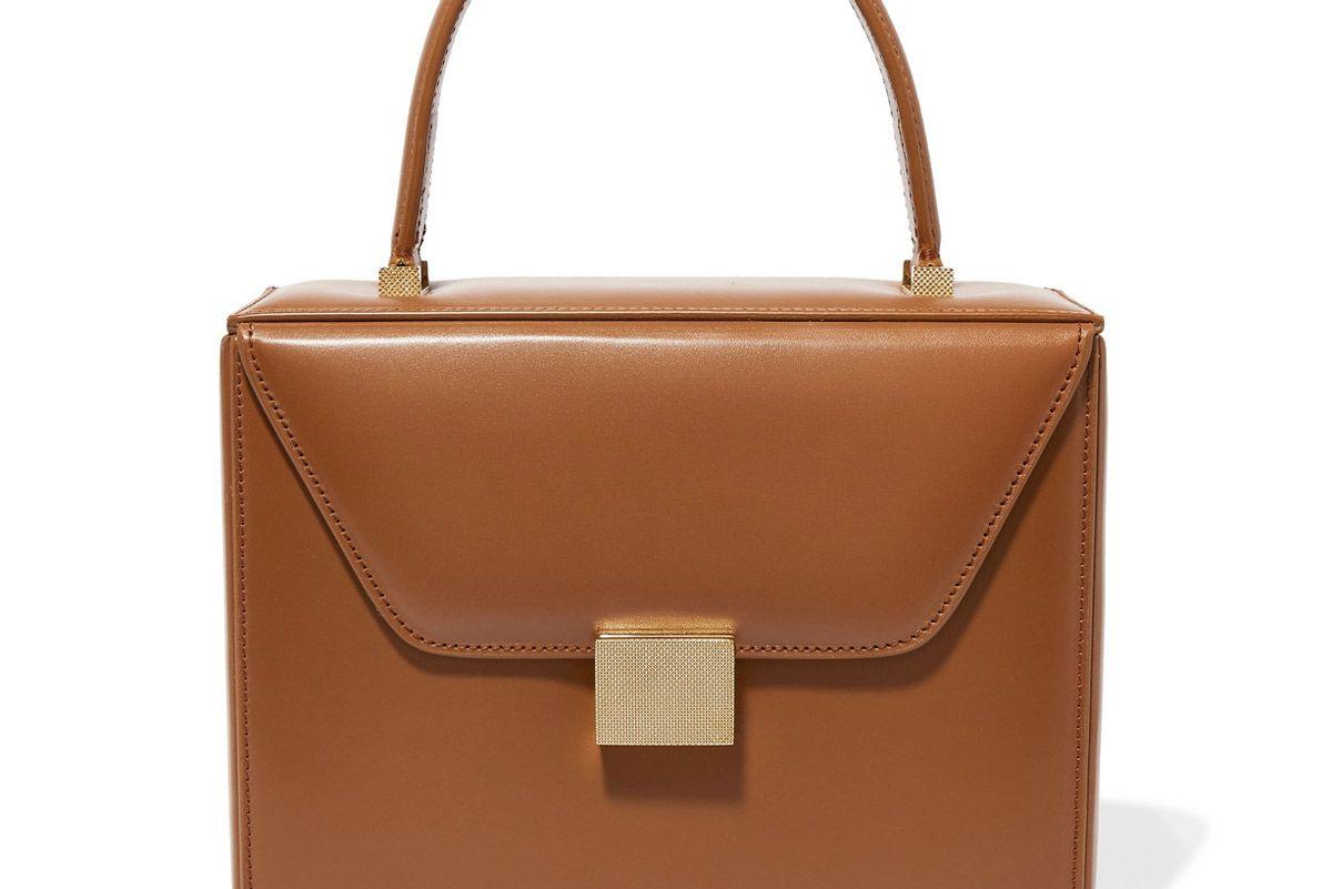 victoria beckham vanity leather tote
