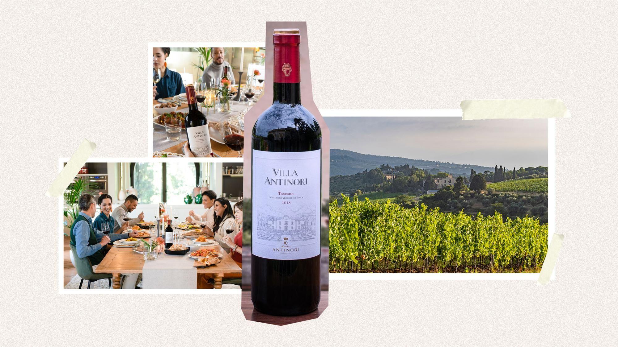 villa antinori wine