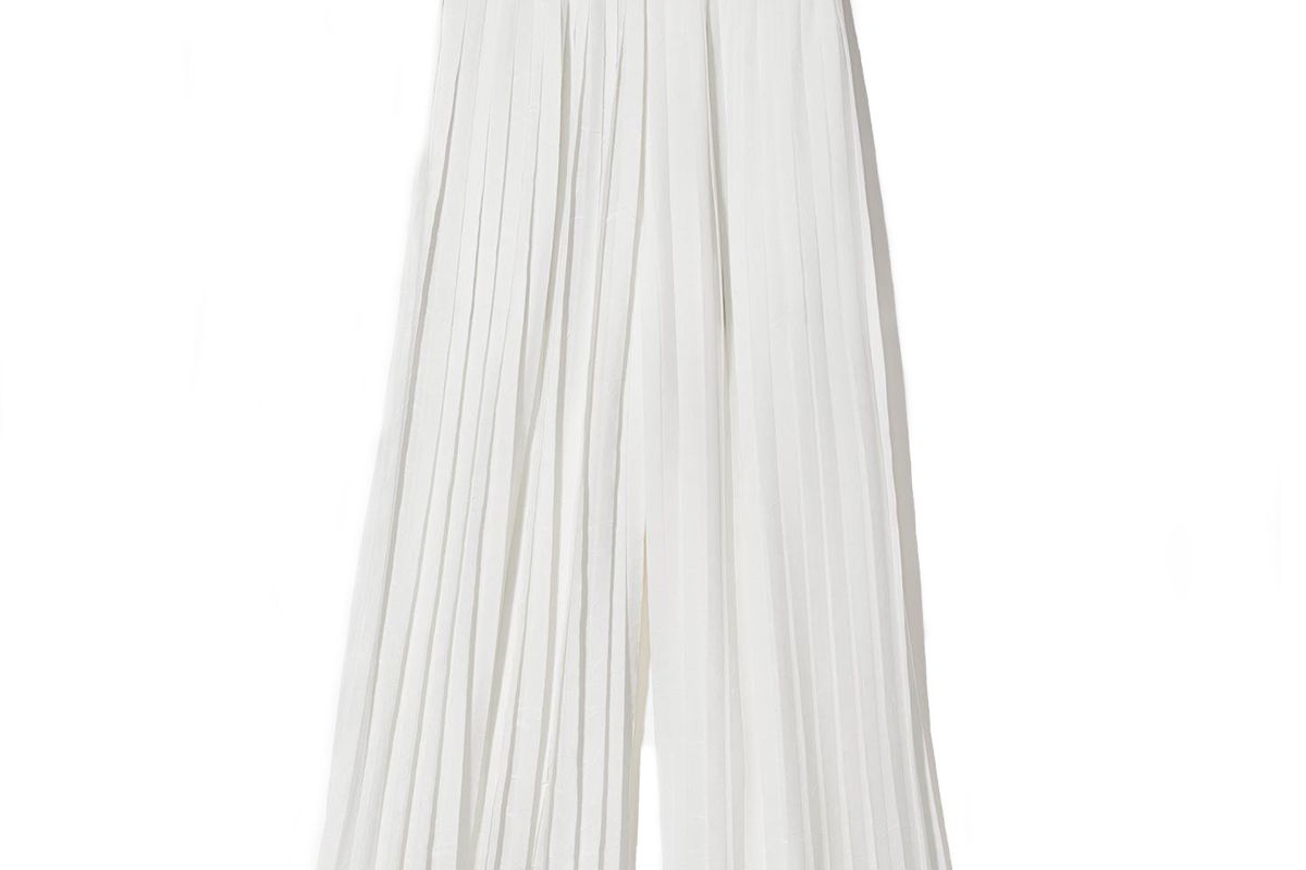 vince pleated culotte