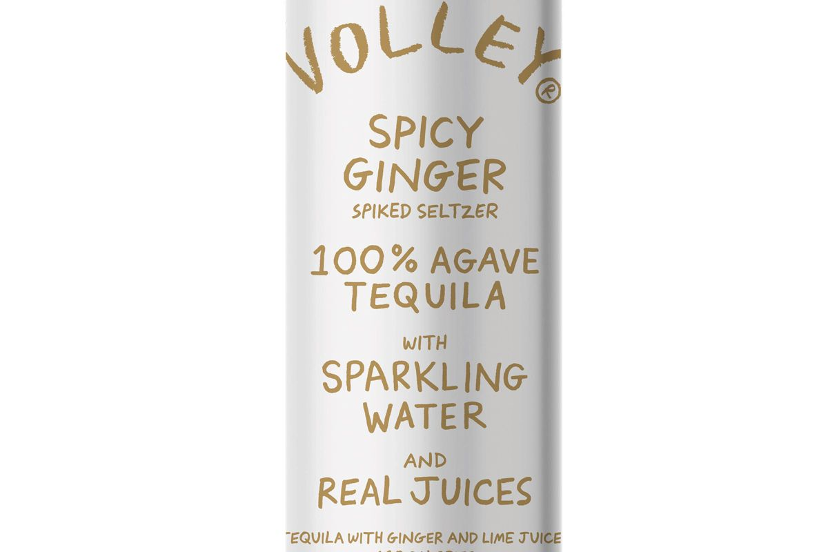 volley spicy ginger spiked seltzer
