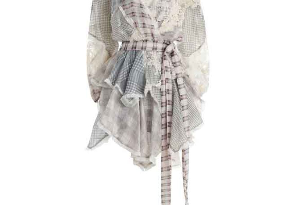 Cavalier Plaid Dress