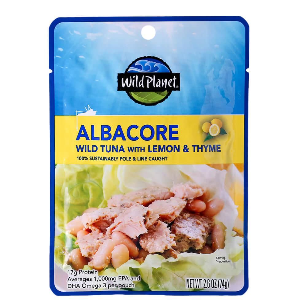 wild planet albacore wild tuna with lemon and thyme