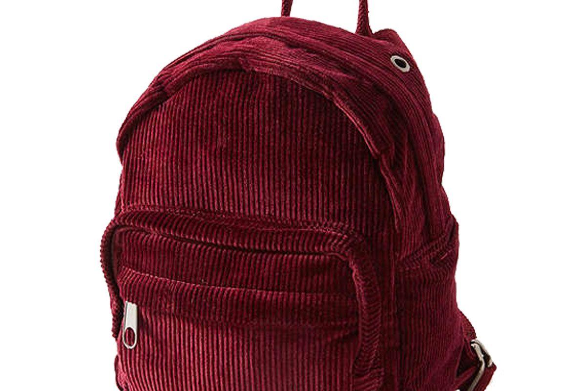 Mini Corduroy Backpack