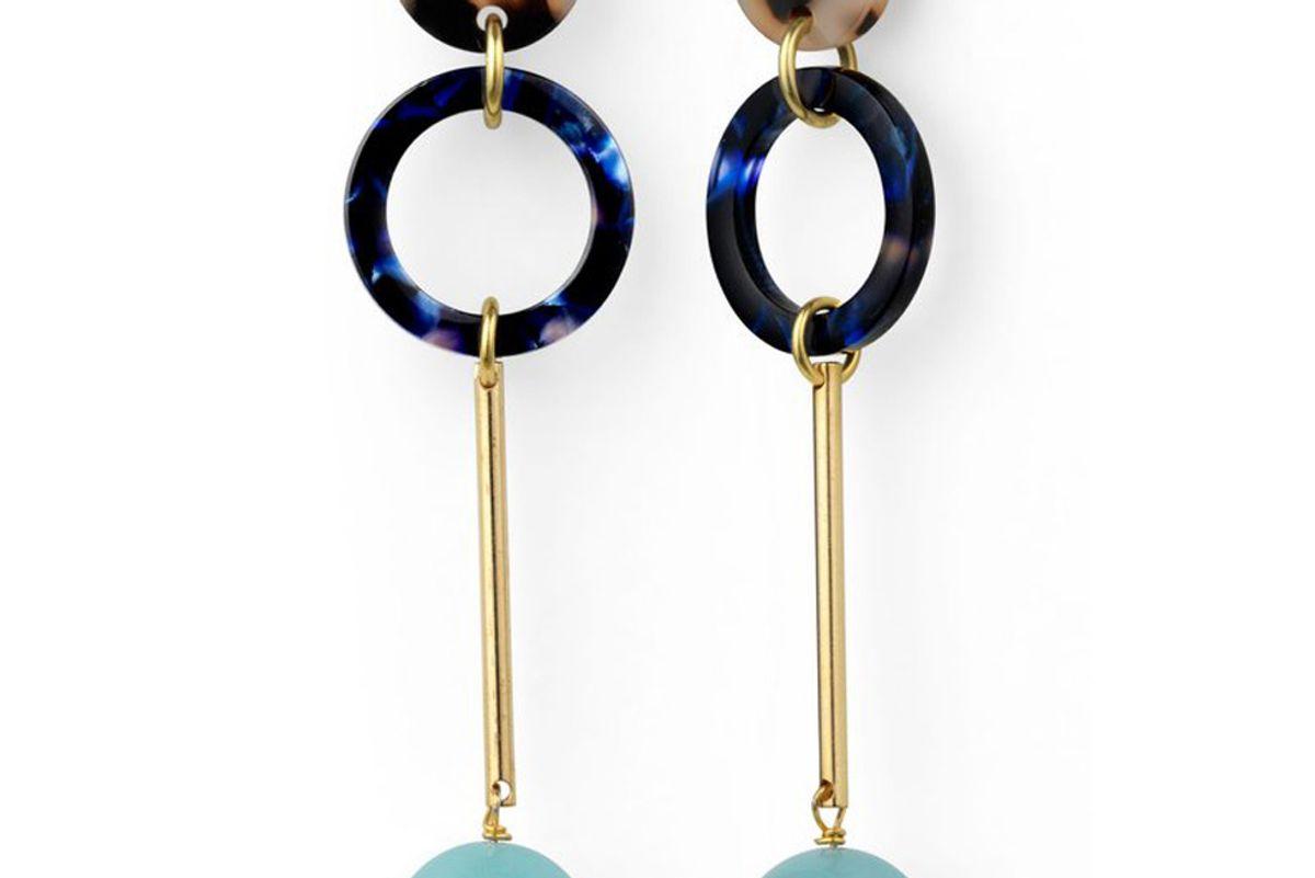 iuo sky jade earrings