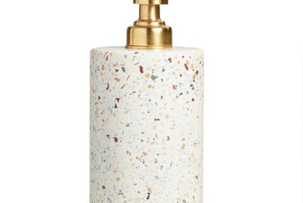 world market terrazzo soap dispenser