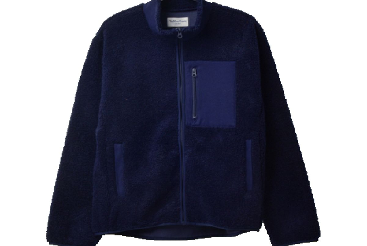 garmentory pilgrim fleece navy