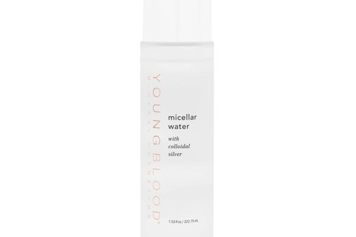 youngblood mineral cosmetics micellar water with colloidal silver