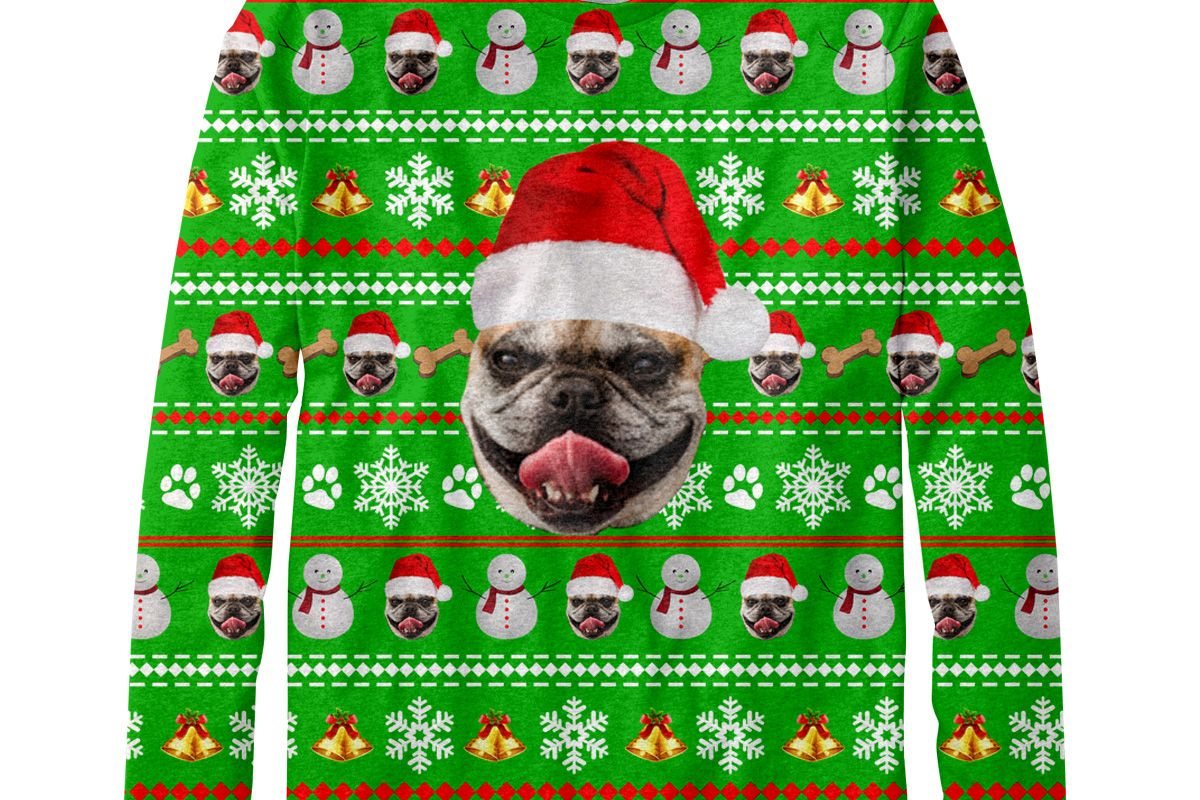 Custom Pet Christmas Sweater