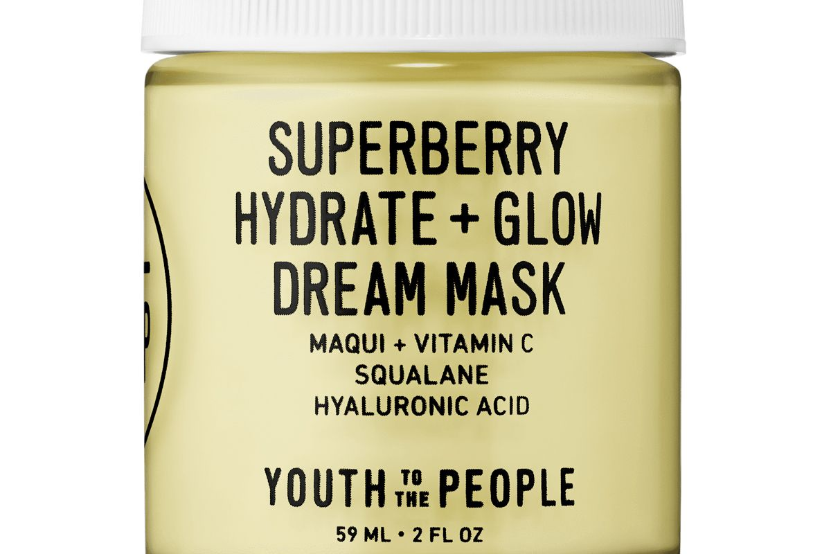 youth to the people suberberry hydrate and glow dream mask