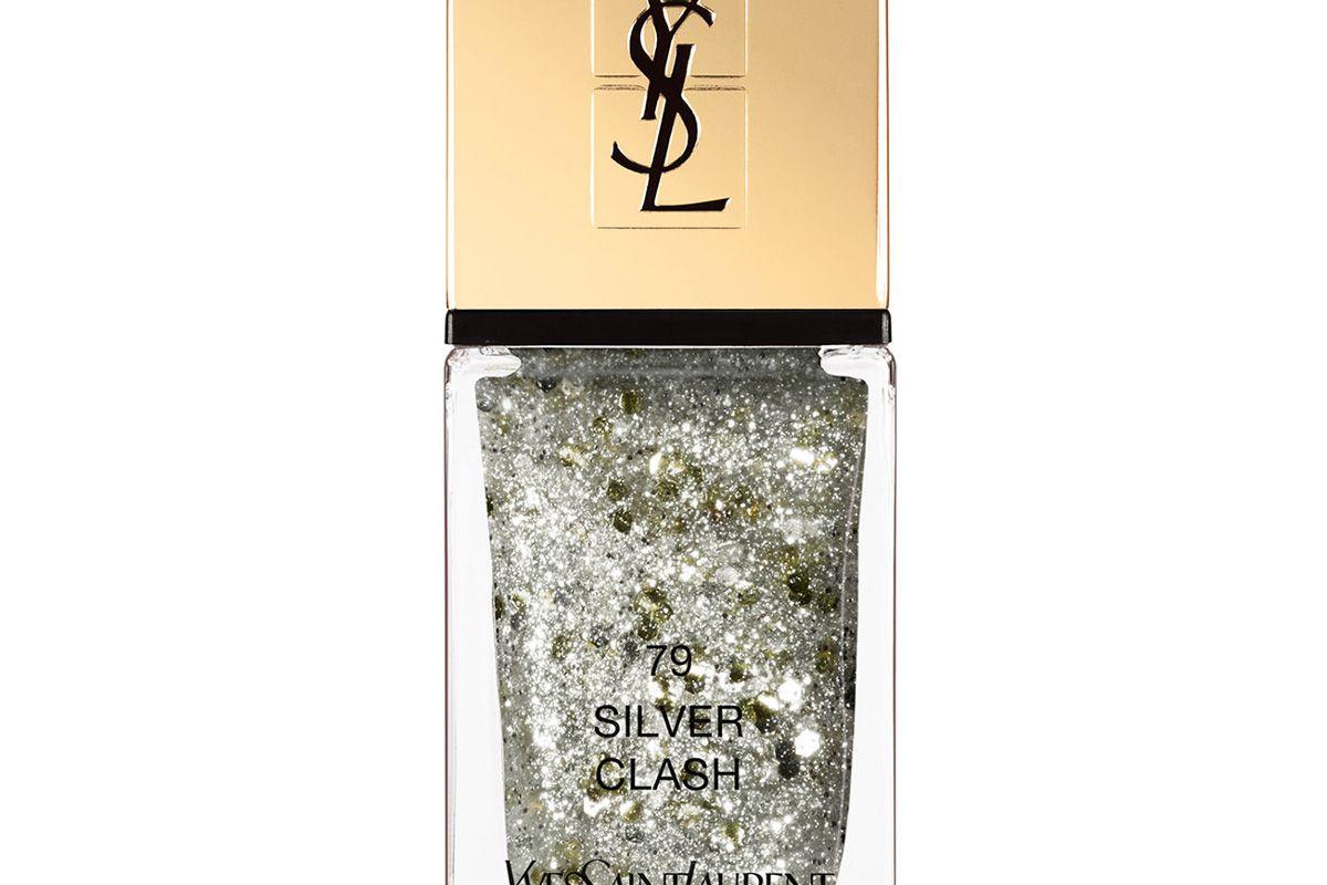 yves saint laurent la laque couture silver clash