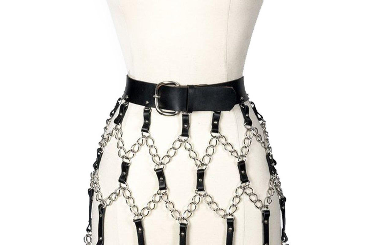 Heartbreaker Belted Skirt