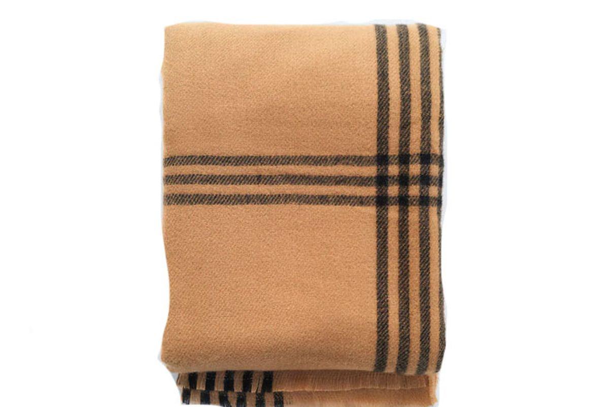 zara large plaid scarf