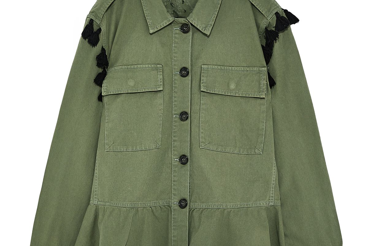 Parka with Tassels