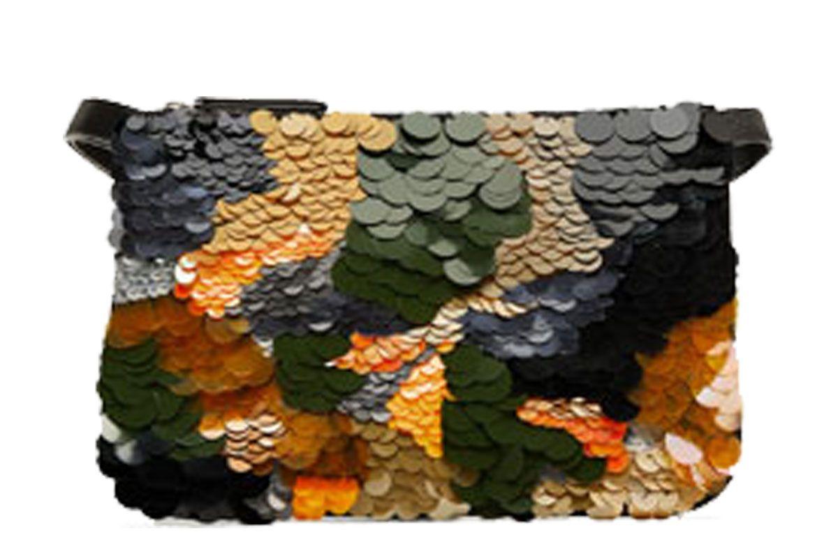 Sequinned Belt Bag Clutch