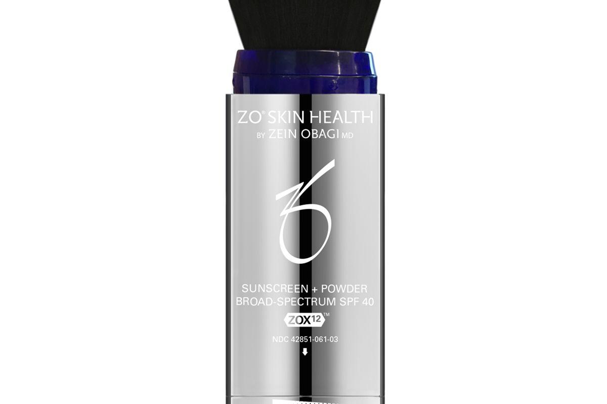 zo skin health sunscreen powder broad spectrum spf 40