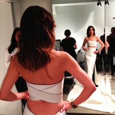 Getting Ready with Olivia Wilde MET Gala 2013