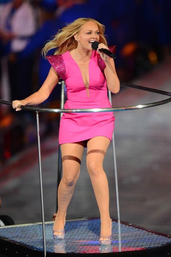 Italian radio presenter stockings amp nip slip - 1 6