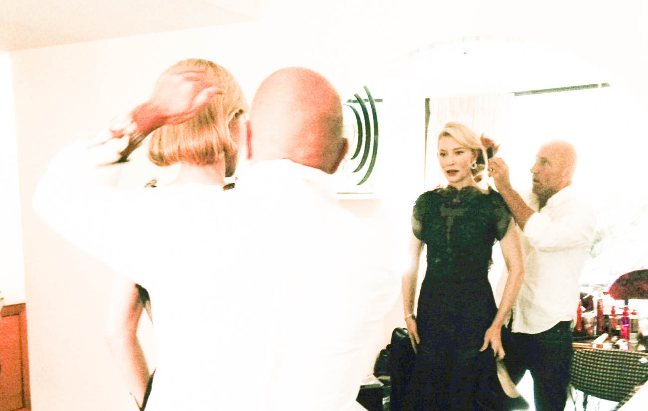 Getting Golden Globes Ready with Cate Blanchett
