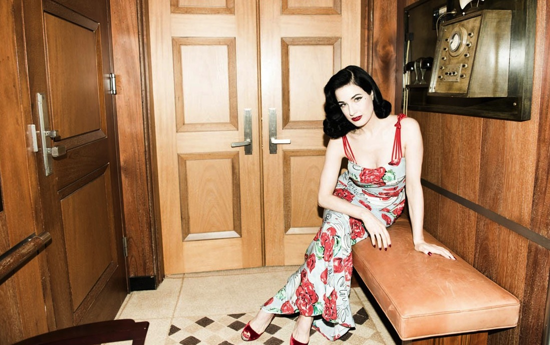 500d9df670aa4 Lightning Round: Dita Von Teese. The burlesque queen on ...