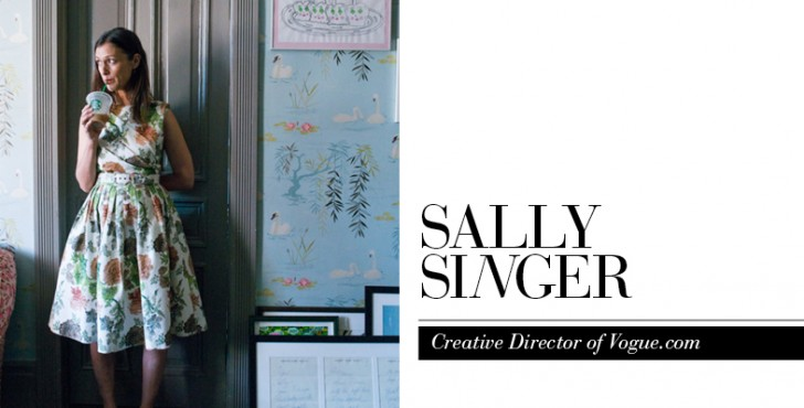 Sally Singer Career Advice